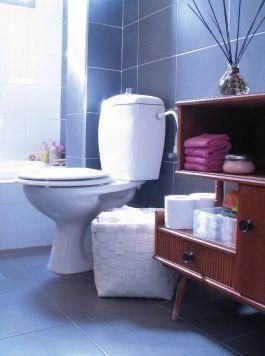 חדר שירותים, הילה ברונשטיין עיצוב והום סטיילינג