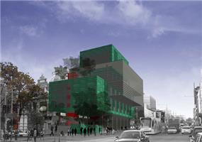 הצעה לתכנון מחדש לפקולטה לאדריכלות - אוניברסיטת מלבורן - אוסטרליה