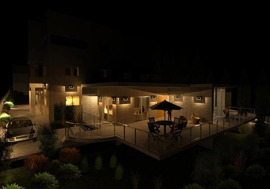 מבט לילה - תוספת לבית קיים