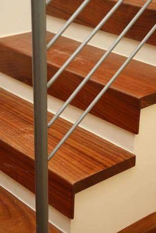 מדרגות - חיפוי עץ