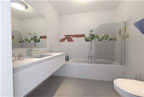 חדר אמבטיה בעיצוב יניב סולומון