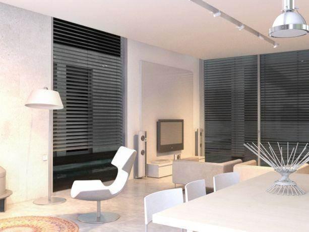 סלון מודרני בעיצוב יניב סולומון