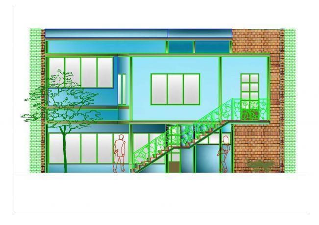 תכנון אדריכלי בית ברחוב אילת