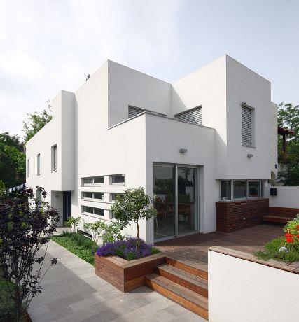 אמיצי אדריכלים - שיפוץ בית קיים