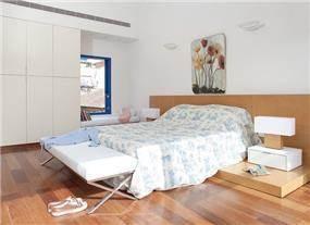 חדר שינה מעוצב, צכנוביץ ערן אדריכלות ועיצוב פנים