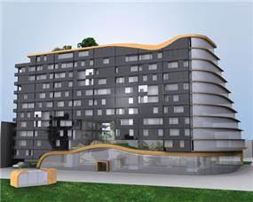 """פרוייקט מגורים בת""""א, בנייה ירוקה"""
