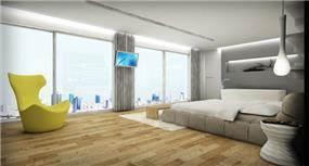 חדר שינה בעיצובו של דורי- עיצוב פנים