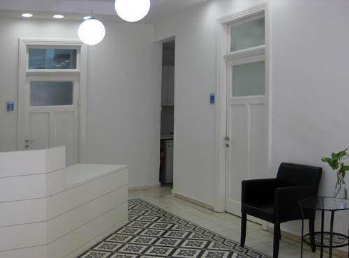 לובי כניסה למשרדים-מוזס פרידמן סטודיו