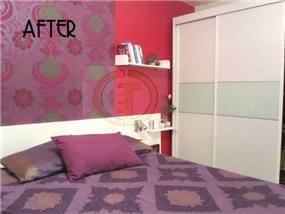 חדר שינה צבעוני בעיצוב של גרונר קטרין CDGECO