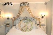 חדר שינה בעיצוב קלאסי רומנטי של גרונר קטרין CDGECO