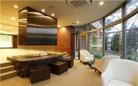 לובי בבניין מגורים, עיצוב ליאורה רדלר