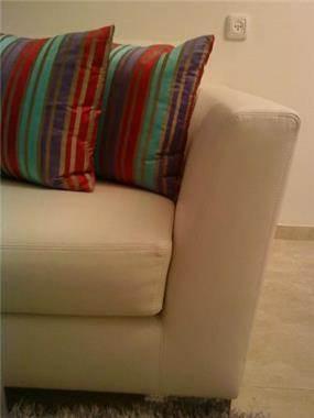 חתך ספה מעור אפשרות לכל מידה בד,עורות.....