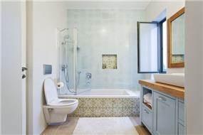 חדר אמבטיה בעיצוב סטודיו דולו