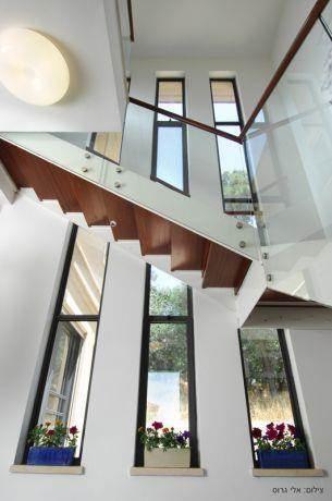 בית פרטי באלוני אבא. אדריכל - דוד צינמן