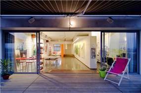 סטודיו לאומנית |BLV תכנון ועיצוב פנים | 80מ | תל אביב