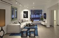 מבט אל חלל מגורים בעיצוב יוקרתי מודרני  - BLV תכנון ועיצוב פנים - זהר בן לביא