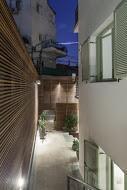 חצר הבית בדירת גן בעיצוב ייחודי  - BLV תכנון ועיצוב פנים - זהר בן לביא