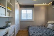 חדר שינה לנערה בעיצוב מודרני  - BLV תכנון ועיצוב פנים - זהר בן לביא