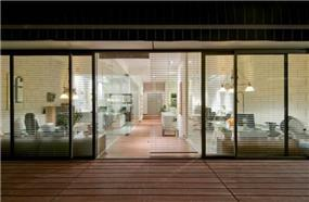 סטודיו מסטרפונט  BLV עיצוב פנים ואדריכלות   בניין פנורמה   תל אביב