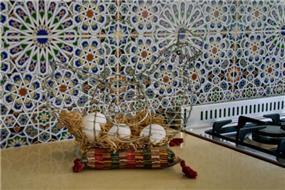 אריחים עבודת יד יבוא אישי ממרוקו, עיצוב אורלי קימה