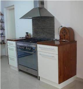 מטבח עם שילוב אתני ומודרני - עיצוב סיגלית פרץ