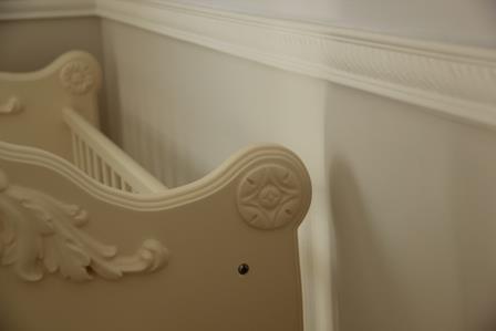 פרט מתוך חדר תינוק. עיצוב: סיגלית פרץ
