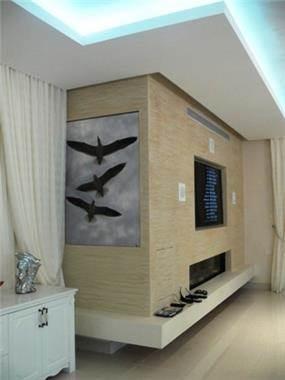 עיצוב מרשים במבואת בית, מראה יוקרתי ומרשים המעניק תחושת חום. סיגלית פרץ - אדריכלות ועיצוב פנים