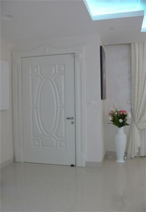 דלת כניסה לפנטהאוס. עיצוב: סיגלית פרץ