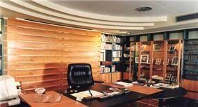 חדר עבודה בעיצוב כנף ר. אדריכלים