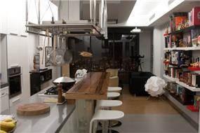 עיצוב מטבח מינימליסטי בבית פרטי בחיפה. אייל צייג - עיצוב פנים אדריכלי