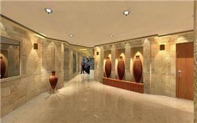 הדמיה ממוחשבת למבואת הכניסה לבניין, יעל דיילס בכר