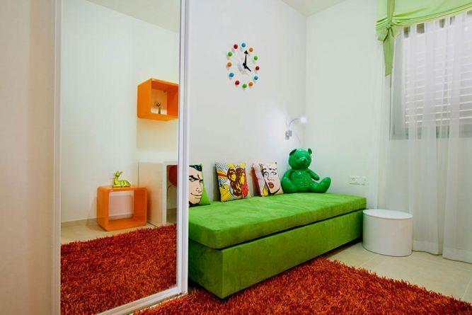 חדר ילדים מרהיב בתכנון יעל דיילס בכר