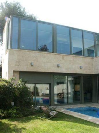 חזית בית בתכנון יעל דיילס בכר