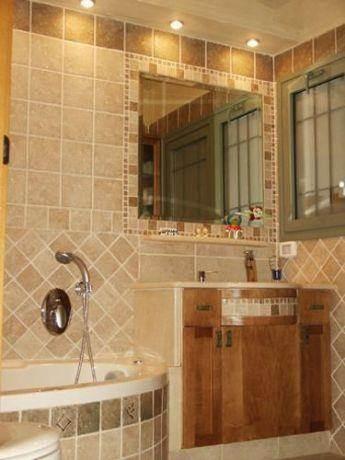 חדר אמבטיה בעיצוב יעל דיילס בכר