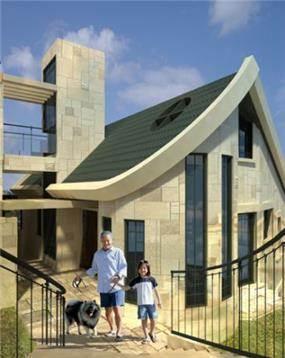 חזית צידית בבית פרטי בדניה חיפה