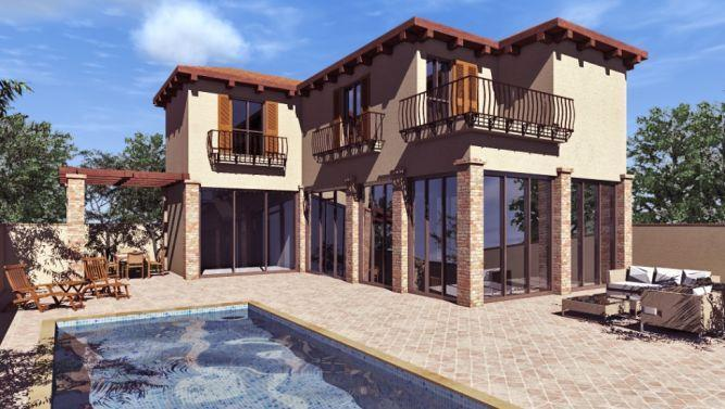 חזית בית בעיצוב mind אדריכלים