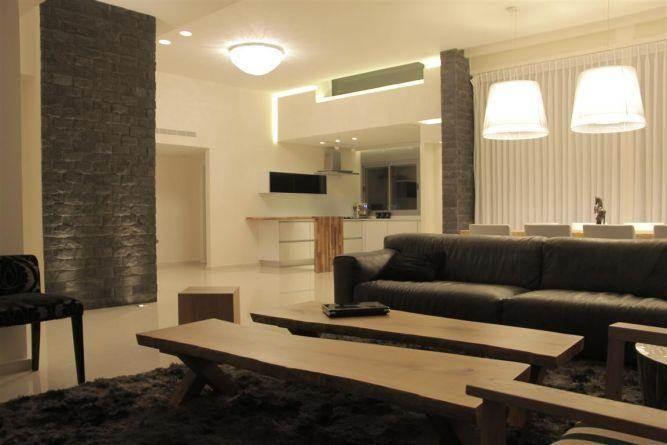 סלון בעיצוב סטודיו פיני לייבץ