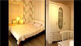 חדר שינה בסגנון כפרי בעיצוב mind אדריכלים