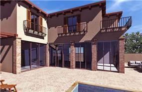 חזית בית בתכנון ועיצוב mind אדריכלים
