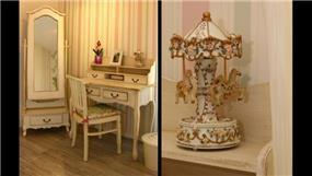 חדר נערה בסגנון כפרי, עיצוב mind אדריכלים