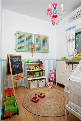 חדר ילדים בסגנון כפרי בעיצוב מעשה בבית-בוטיק ביתי לאדריכלות ועיצוב פנים