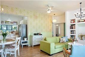 סלון בסגנון וינטג' בעיצוב מעשה בבית-בוטיק ביתי לאדריכלות ועיצוב פנים
