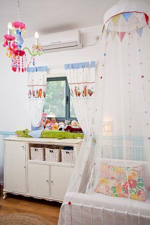 חדר ילדים צבעוני בעיצוב מעשה בבית-בוטיק ביתי לאדריכלות ועיצוב פנים