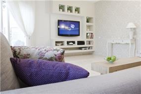 חדר מגורים בעיצוב סטודיו מעשה בבוטיק