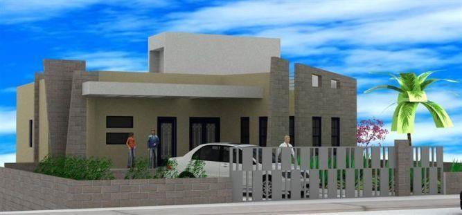 הדמיית חזית בניין מפואר בתכנון מחאמיד רסלאן