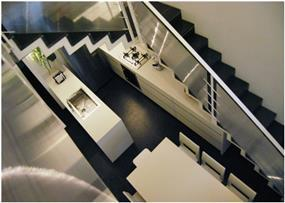 חדר מדרגות - אהד יחיאלי, אדריכל