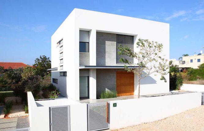 חזית בית בתכנון איציק ניב