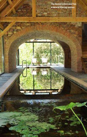 בריכה ביולוגית מחוממת בפרויקט ארכיטקטורי ייחודי בקייפטאון דרום אפריקה - ריפלינט