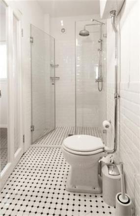 מקלחון ביחידת הורים - עיצוב ותכנון של הילה לוסקי