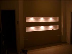 קיר שישמש גב למיטה זוגית בעיצוב חיה ברק,סטודיו Hb